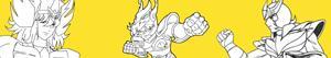 kolorowanki Rycerze Zodiaku - Saint Seiya