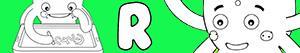 kolorowanki Imiona dla Chłopców na litere R