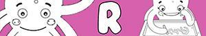 kolorowanki Imiona dla Dziewczynek na litere R