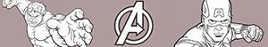kolorowanki Avengers. Mściciele